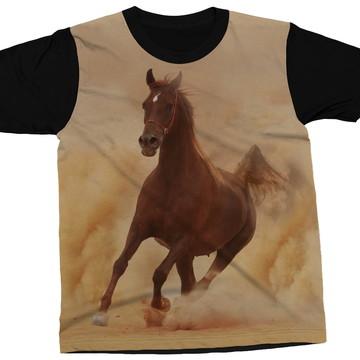 1ac6c29599 Camiseta Cavalo Solitário Selvagem Liberdade Blusa Camisa