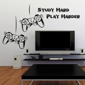 Adesivo de Parede Video Game para Sala e Quarto