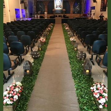 Cerimônia de Casamento em Igreja - Locação