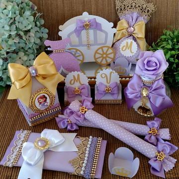 Kit Princesa Sofia Luxo