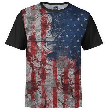 6783699948 Camiseta masculina Bandeira EUA Estampa Digital md01