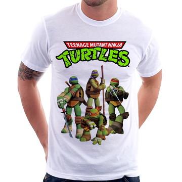 Camiseta Tartarugas Ninja Teenage Mutant Ninja Turtles