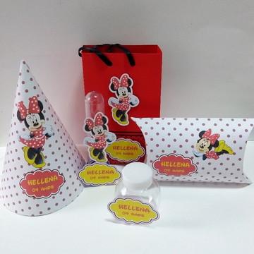 Kit Decoração para Festa da Minnie
