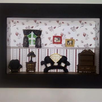 Quadro sala miniatura