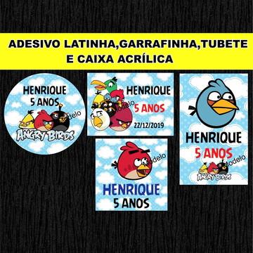 Adesivo Angry Birds .