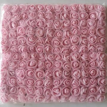 Mini Rosas em EVA Pacote com 144 Peças Cor a Escolher