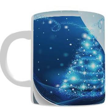 Caneca Personalizada - Natal Azul