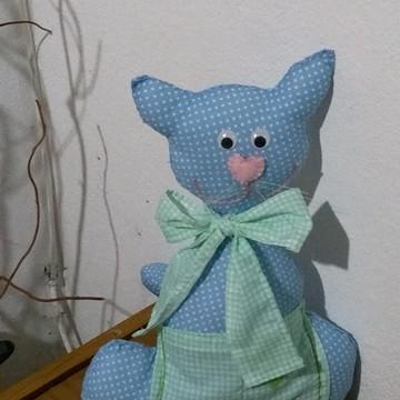 Gato de pelúcia/tecido