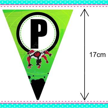 Bandeirola Decorativa / Varal Ben 10