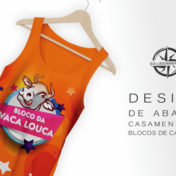 Design Abadá Blocos Carnaval Criação Arte Casamentos