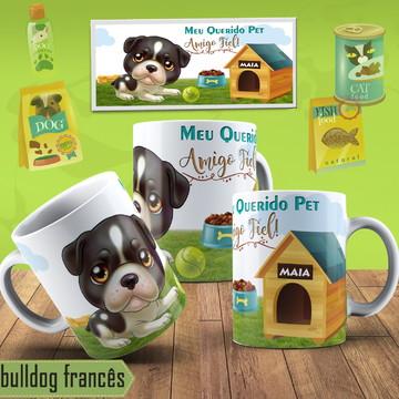 Canecas Personalizadas Bulldog Frances