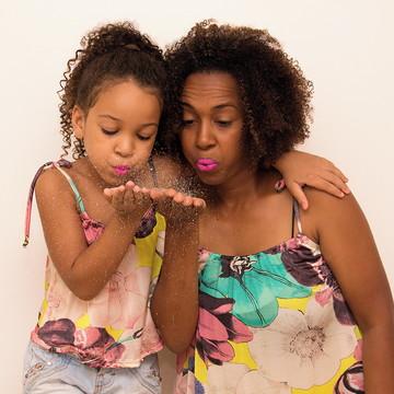 Blusas Gabi Primavera (mãe e filha)