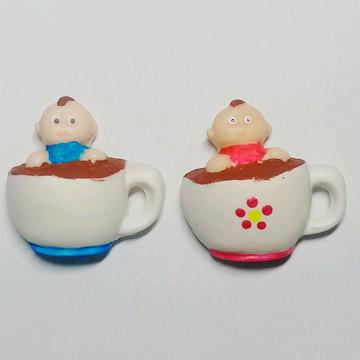 Lembrancinha Chá de bebê na xícara