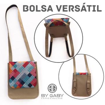 eb9b961e6 Bolsa Carteiro Conversivel para Mochila2 | Elo7