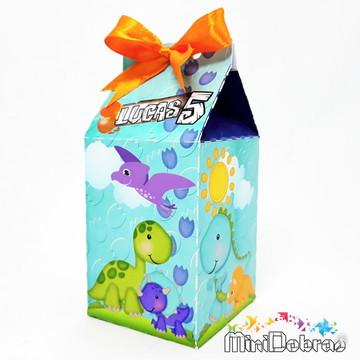 Caixa Milk Dinossauros Baby