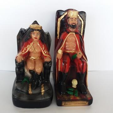 Esculta Pomba gira Rainha no trono + Exu Rei no trono casal