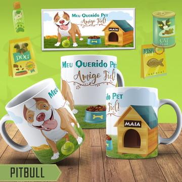 Canecas Personalizadas Pitbull