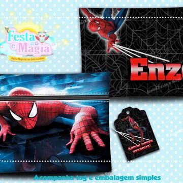 Necessaire Personalizada Homem Aranha