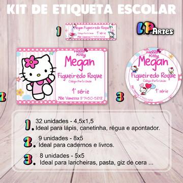 Kit Etiqueta Escolar - Hello Kit
