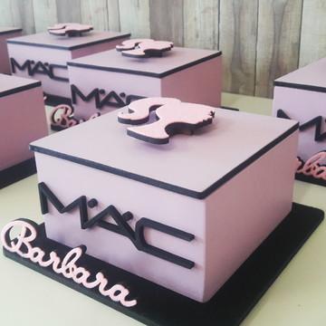 Caixinha MDF - Barbie\Maquiagem (10x10)