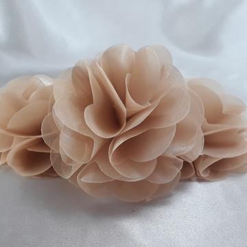 Flor de Tecido 7Cm