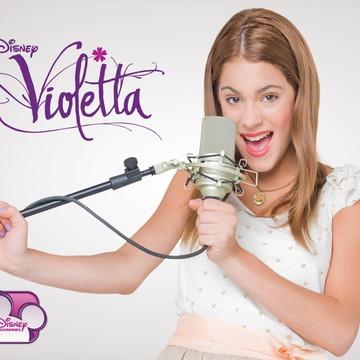 Painel de Festa Infantil Violetta