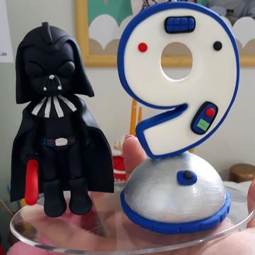 Vela Star Wars - Dart Vader