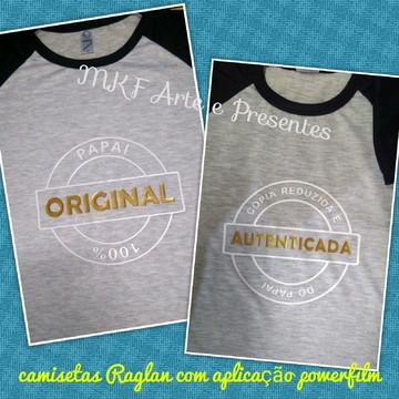 Camisetas Raglan - original e autenticada