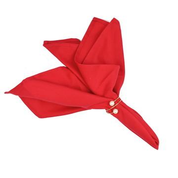 Guardanapo de Mesa de natal 4 Peças Vermelho