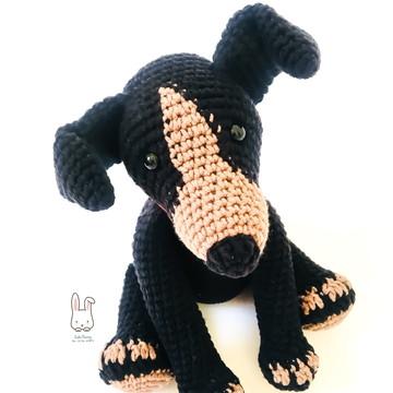Amigurumi Cachorro - Crochê