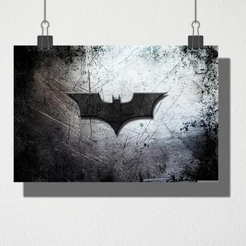 Poster A4 Peito do batman
