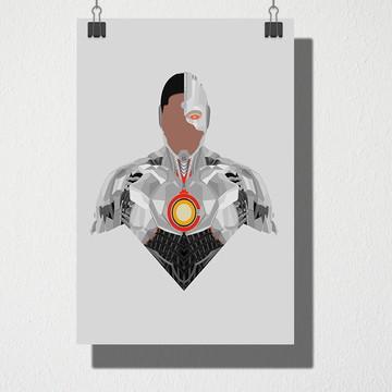 Poster A4 Cyborg