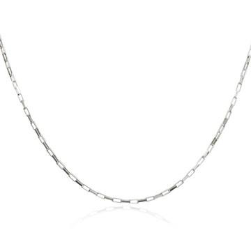 Corrente de Prata Cartier Masculina 60 cm em Prata 925