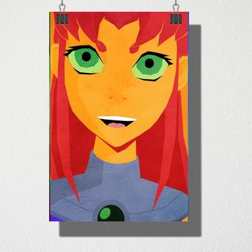 Poster A4 Jovens titãns Estelar