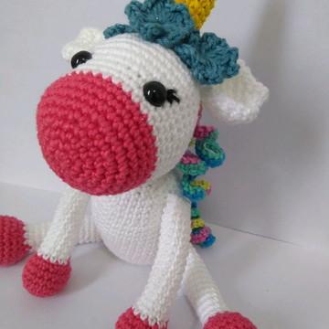Unicórnio em Crochet - Amigurumi