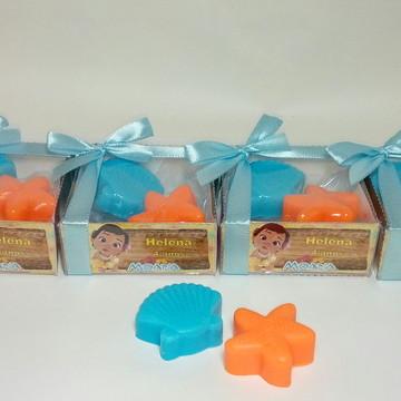 Caixinha Moana sabonetes personalizados