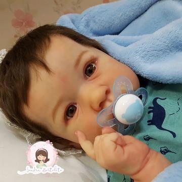 Bebê Reborn kit Saskia (Bonnie Brown)