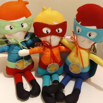 Boneco Super Heroi Fofo