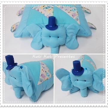 Elefante que vira travesseiro/ almofada elefante
