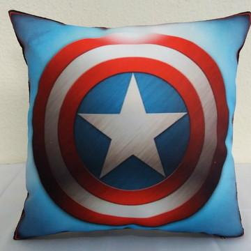 kit com 3 capas de almofadas tema super heróis