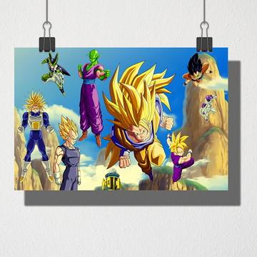 Poster A4 Dragonball Z