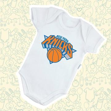 954e733c5f759 Body Infantil Bebê New York Knicks NBA B130BR