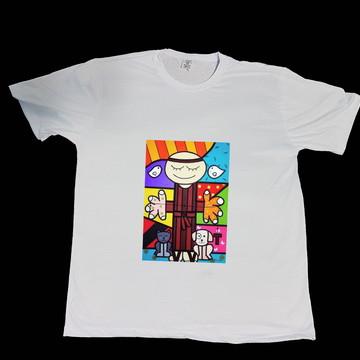 Camiseta Adulto - São Francisco de Assis
