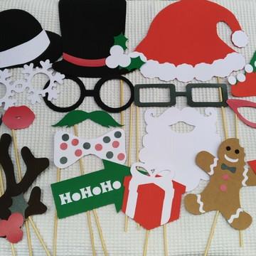 Placas Divertidas/Props Natal 1