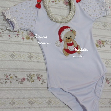 Collant Natal - Glaucia Edwiges- 6 anos