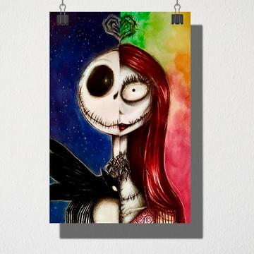 Poster A4 Jack e Sally