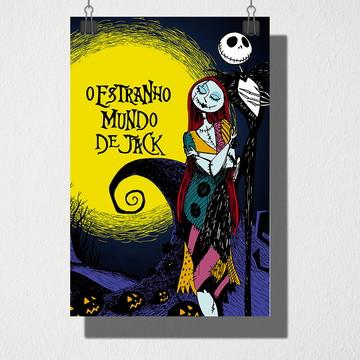 Poster A4 O estranho mundo de jack