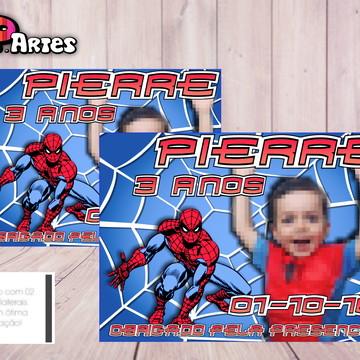 Lembrancinha Imã - Homem Aranha