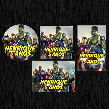 Adesivo Os Vingadores ..