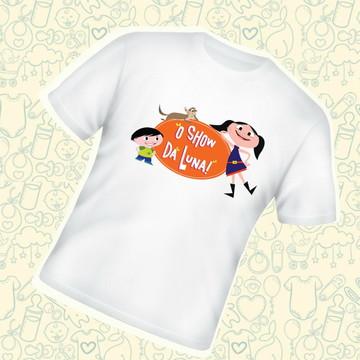 Camiseta Infantil Show da Luna C138BR